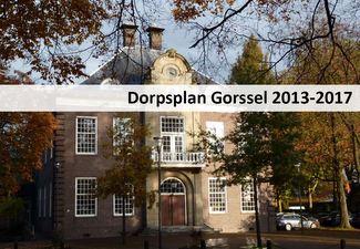 Dorpsplan Gorssel 2013-2017