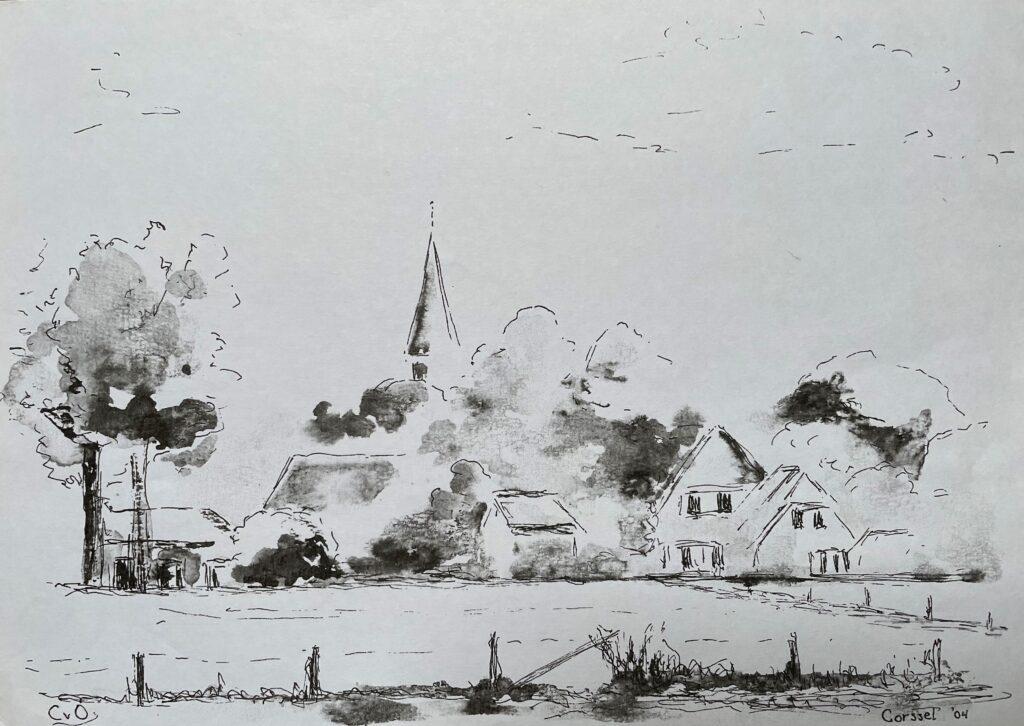 ds. G.C. Montijn, juli 1901.  (Collectie Stedelijk  Museum Zutphen